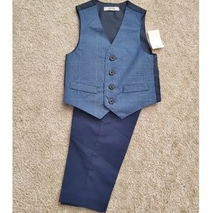 KENNETH COLE REACTION 2 PIECE BOY VEST/PANT 2T